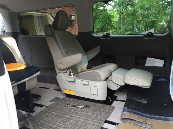 Toyota Sienna Seat - Our NV 3500 - Photo Gallery - Nissan ...